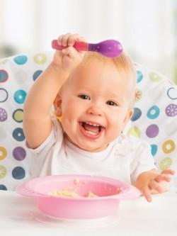 dziecko prawidłowo jedzące