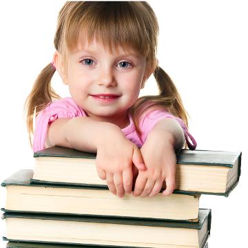 Dziewczynka ćwicząca mózg