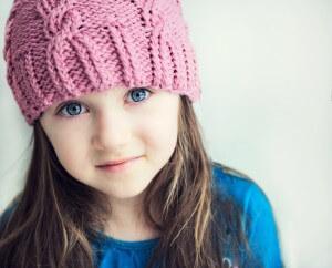 Dziewczynka autyzm